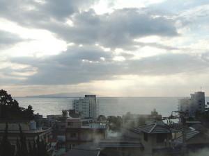 熱川荘からの眺め